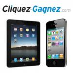 Gagnez 1 iPad ou 1 iPhone 4